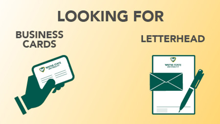 Looking for business cards or letterhead?